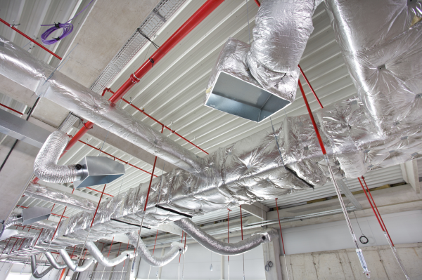 Building With Clean Air Ducts
