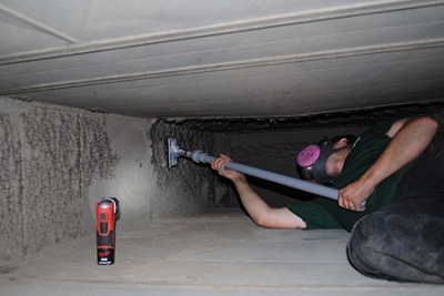 We offer the best air duct cleaning - at a low cost!